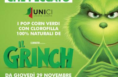Pop Corn verdi per il Grinch