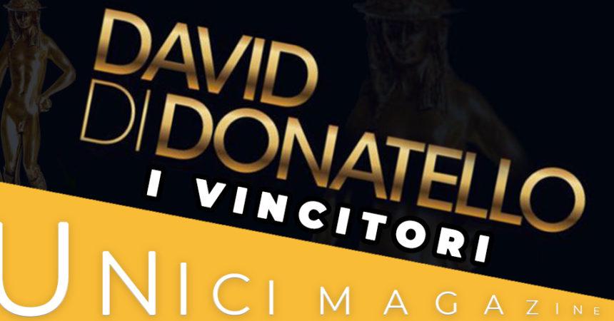 DAVID DI DONATELLO 2019: I VINCITORI