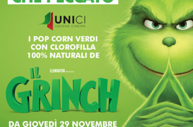 Pop Corn verdi per il Grinch