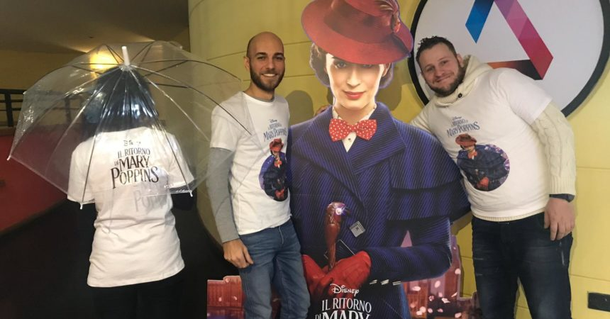 Le t-shirt di Mary Poppins